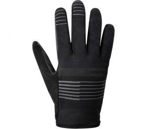 SHIMANO EARLY WINTER GLOVES rukavice (10°C), černá, L
