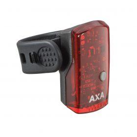 AXA GREENLINE zadní světlo 1 LED / USB nabíjení / indikátor baterie