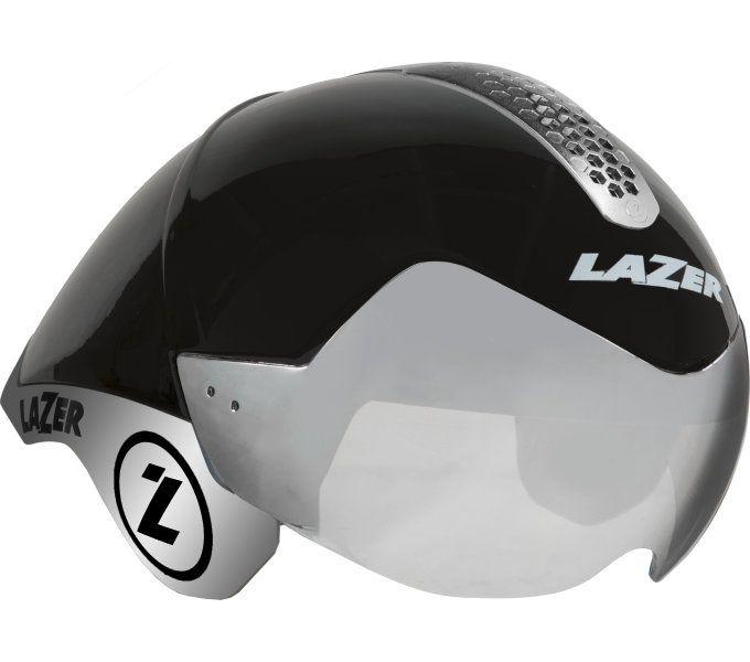 LAZER přilba triathlon Wasp Air TRI černá Chrome (M-L)