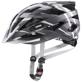 2021 UVEX HELMA AIR WING CC, BLACK - SILVER MAT 52-57