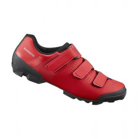 SHIMANO MTB obuv SH-XC100, červená, 42