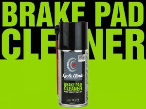 AUTHOR Čistič Cycle Clinic BrakePad Cleaner 150 ml  (černá)