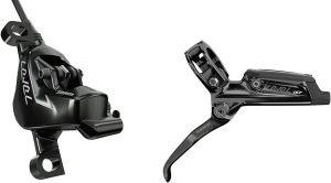 brzdy SRAM Level Ultimate Black Anodized přední 950mm + zadní 2000 hadice, with Ti Hardware